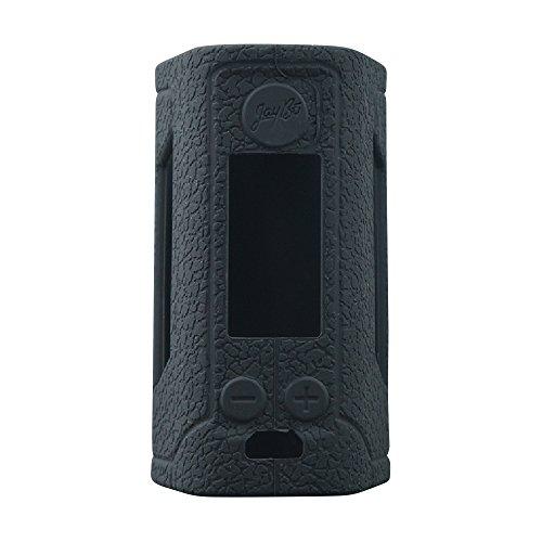 Wismec Reuleaux RX Gen 3 300W Protective Gel Skin Case Cover Sleeve Wrap Fits 300 Watt RX GEN3 (Black)