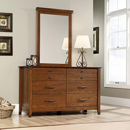"Sauder 415520 Carson Forge Dresser, L: 57.80"" x W: 18.50"" x H: 33.90"", Washington Cherry finish"