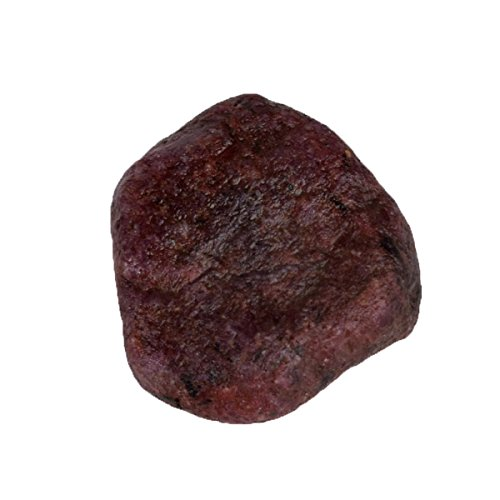 Natural Red Star Ruby Uncut Untreated Rough (92.00 Carat) Gemstone with Egl Certified - Ruby Untreated Natural
