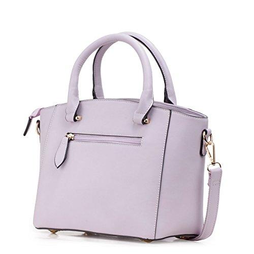 Barbie Bolso bandolera para Mujer Boloso a mano de estilo moderno y elegante para Chica BBFB593 35.5x13x20.5CM (Rosa) Azul