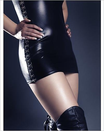 Photographic Print of Woman wearing high stiletto boots and a sleek sexy - Stiletto Australia