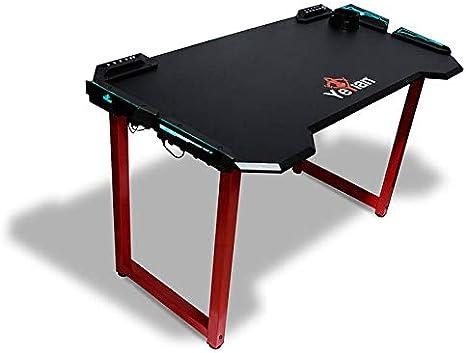 YEYIAN Mesa Gaming Shred, ergonomica, 122x68x76 cm, 4 USB ...