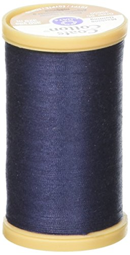 Coats Thread & Zippers Machine Quilting Cotton Thread, 350-Yard, Navy