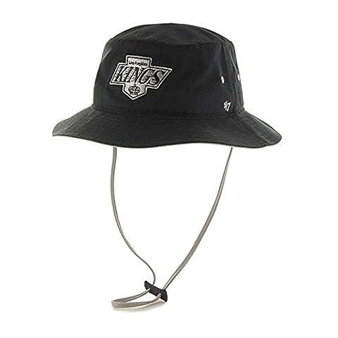 Los Angeles Kings 47 Brand Kirby Bucket Hat (Los Angeles Kings Hat 47)