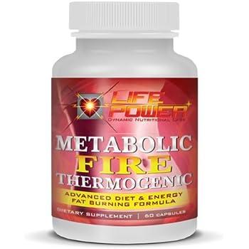 Amazon Com Metabolic Fire Advanced Thermogenic Fat Burner