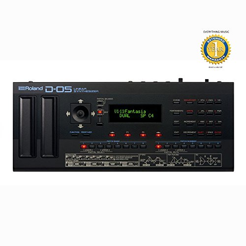 Roland D-05 Linear Synthesizer with 1 Year EverythingMusic Extended Warranty Free