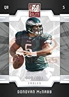 Donovan McNabb - Philadelphia Eagles - 2009 Donruss Elite NFL Football Trading Card in Protective Screwdown Case!