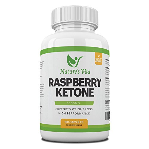 Raspberry Ketones 1000mg Premium Fat Burning Supplement for Women & Men – 100% Natural Formula for Effective Weight Loss…