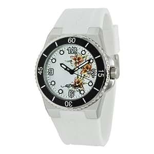 Ed Hardy Women's FU-FL Fusion White Watch