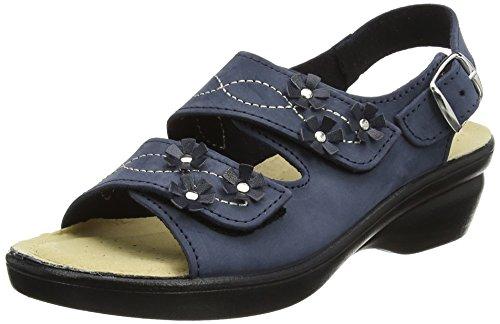 Sandals Back Padders Navy Sling Blue Women's Nub Bluebell qFWWtwIz