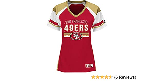 a34a9b81 Women's San Francisco 49ers Jersey Draft Me Fashion Top
