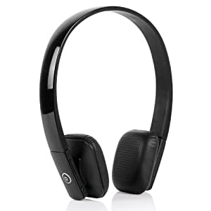 bluedio df610ii on ear bluetooth stereo headphones with built in microphone black. Black Bedroom Furniture Sets. Home Design Ideas