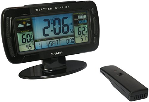 Sharp Digital Atomic Weather Station