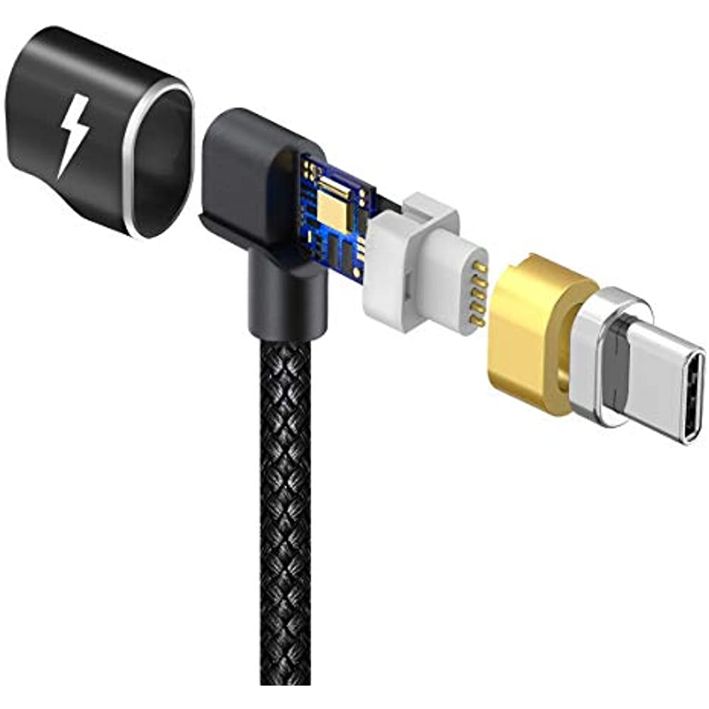 Magnetic Type C Cable For MacBook Pro Ipad (Black ...
