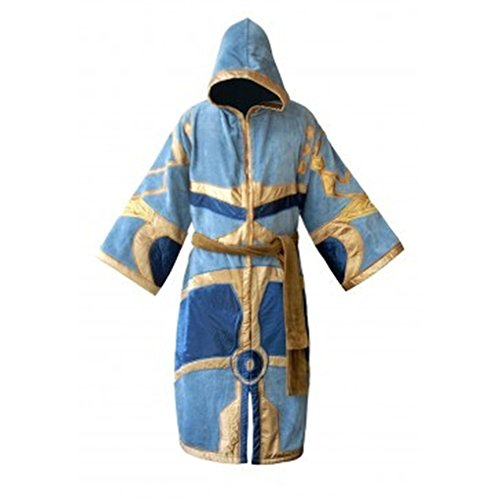 Robe Factory Men's World of Warcraft Cotton Bathrobe