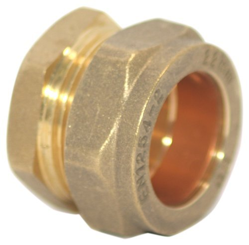 Plumb-Pak Compression Stop End 22mm - by Plumb (22 Mm Stop End)