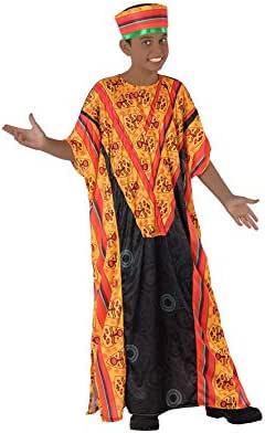 Atosa Disfraz de Africano para niño 5 a 6 años: Amazon.es ...