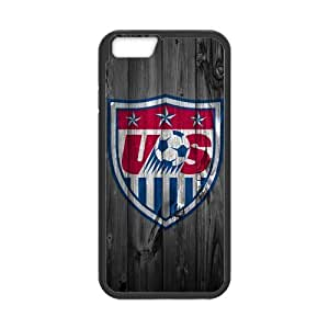 Morimo Custom Protective Phone Case for iPhone 6 4.7,USA Soccer Laster Technology Nice Quality Plastic and Cover