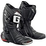 GAERNE(ガエルネ) レーシングシューズ GP-1 / ジーピーワン ブラック 25.5cm 【総輸入元:ジャペックス】