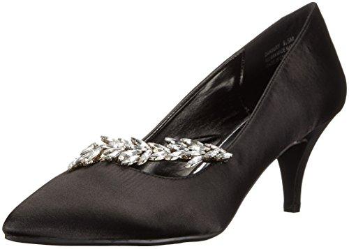Annie Shoes Women's Danbury Dress Pump, Black, 11 M US
