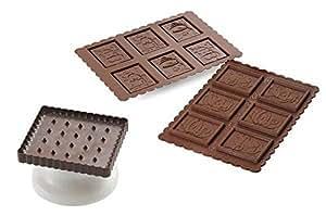 Silikomart m273800 molde silicona para galletas cookie - Moldes silicona amazon ...