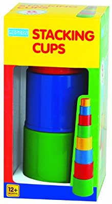 megcos Stacking Plain Cups, 8-Piece from megcos