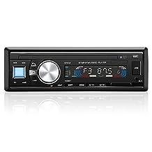 GHB Bluetooth Car Radio Car Stereo 1DIN In Dash Auto FM Radio USB MP3 Stereo Audio WMA APE FLAC WAV LCD Display with Remote Control