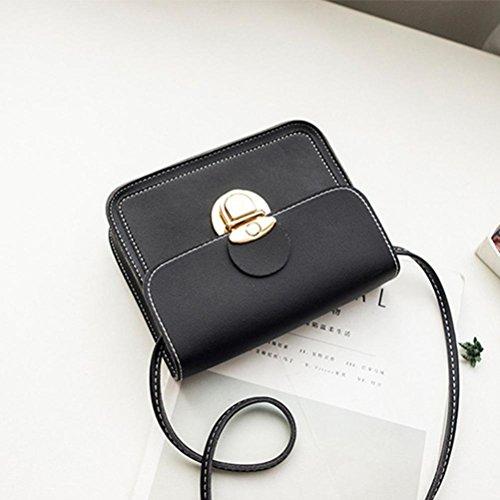 Femme Sac Téléphone zycShang Bandoulière Femmes Mode Coin à Sacs à En Cuir Sac Bandoulière Sac Noir 6qpwEHxB