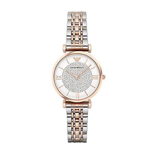 Emporio Armani Women's AR1926 Retro Two Tone ()
