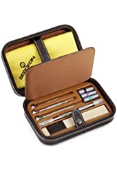 Scatola del Tempo TROUSSE Leather Tool Case w/ Watch Tools