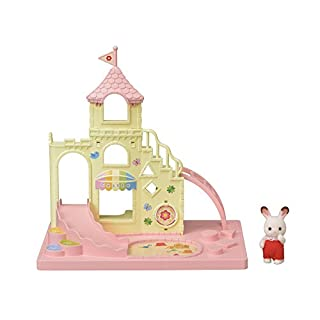 Calico Critters Baby Castle Playground, Toy Bunny Gift for Easter Basket