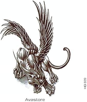 Tatuaje temporal, diseño de fantasía, tatuaje de fantasía: Amazon ...