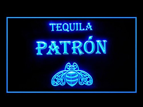 Tequila Patron Beer Bar Pub Led Light Sign (Patron Light Tequila)