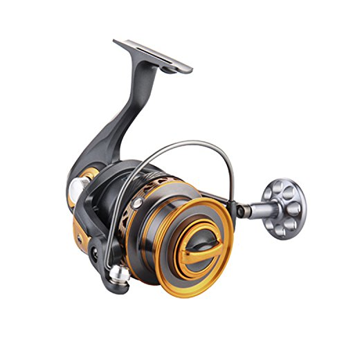 Shaddock Fishing Size 3000-7000 Metal Spinning Fishing Reels 13+1 Ball Bearings High Speed Saltwater Surfcasting Spinfisher V Spinning Reel