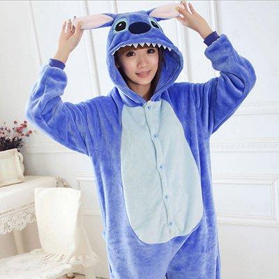 adb6524f6 MH-RITA Women Character Stitch Pajamas Set Adult Coral Fleece ...