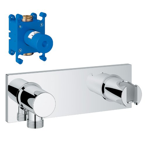 Grohe K27621-35035-000 Wall Union with Integrated Hand Shower Holder