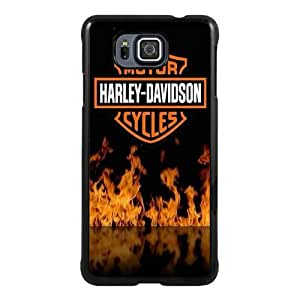 Recommended Design Phone Case Harley Davidson 8 Black Newest Personalized Design Samsung Galaxy Alpha Cover Case