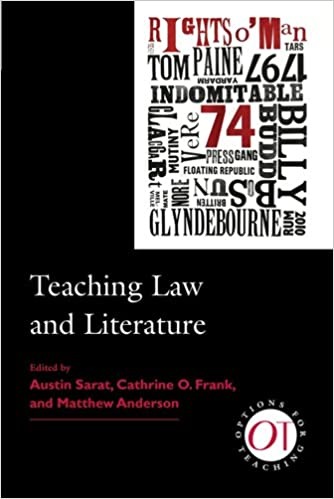 Teaching Law and Literature Options for Teaching 32