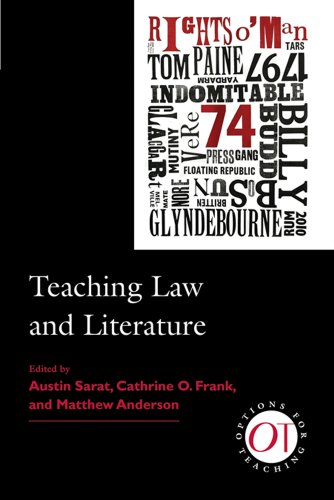 Teaching Law and Literature (Options for Teaching)