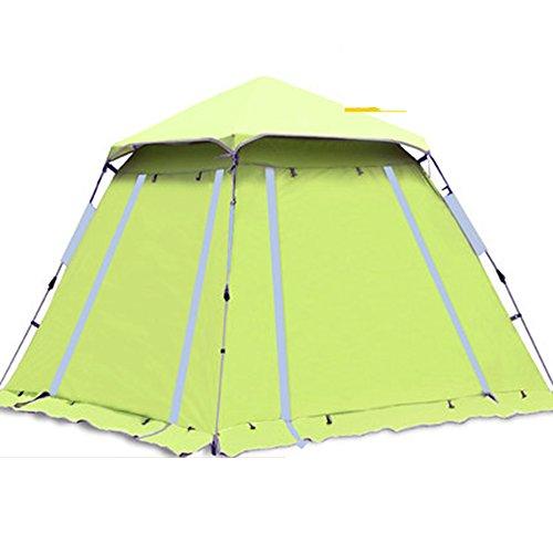 最後の前提条件気絶させるQFFL zhangpeng テント自動日保護雨屋外テント3-4人テントファミリーキャンプキャンプテント2色オプション210 * 210 * 165センチメートル トンネルテント ( 色 : 青 , サイズ さいず : Single layer )