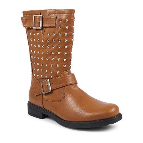 Footwear Sensation - Botas mujer canela