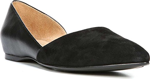 Naturalizer Women's Samantha D'Orsay Shoe,Black Leather,US 10 W by Naturalizer