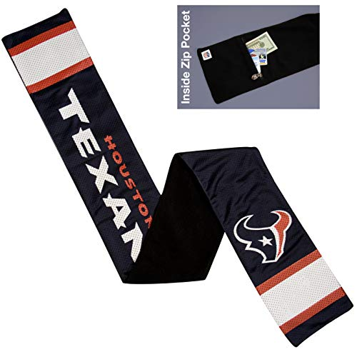 Houston Texans Jersey Scarf - NFL Houston Texans Jersey Scarf