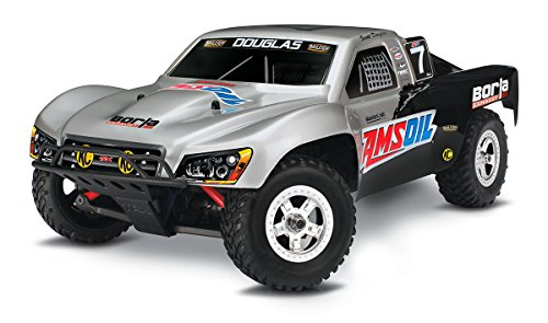Course 4wd Truck Short - Traxxas 70054-1 Slash: 4WD Electric Short Course Racing Truck, Ready-To-Race (1/16 Scale), Colors May Vary