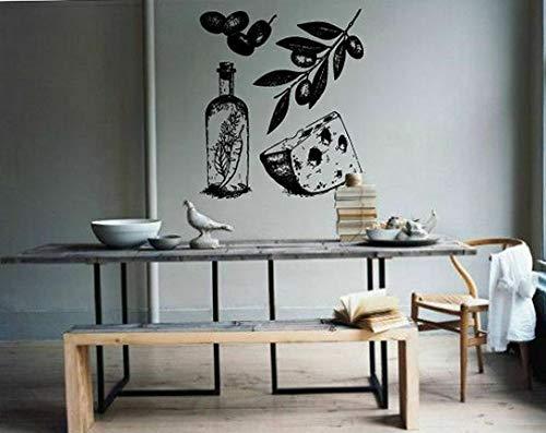Tomikko Wall Decal Room Sticker Kitchen Decor Cheese Olive Italian Food Healthy bo3067 | Model DCR - - Amalfi Planter