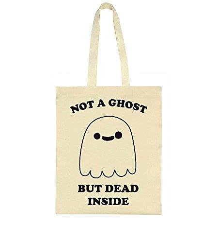 Super Dead But Inside Bag Ghost A Ghost Tote Not Cute nwRXq