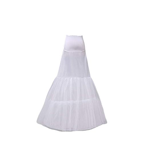 Vivianu - Vestido largo para novia, con falda blanca para repujar ...
