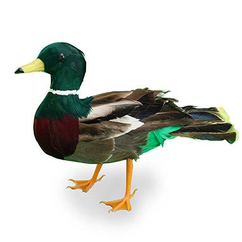 """8-1/2"""" Artificial Feathered Mallard Duck"""