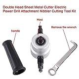 Giftprod Double Head Sheet Metal Nibbler Cutter