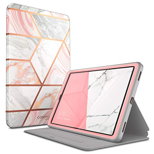 i-Blason Case Designed for Galaxy Tab A 10.1 (SM-T510/T515) 2019, [Cosmo] Full-Body Protection with Built-in Screen Protector Case for Samsung Galaxy Tab A 10.1 2019 Release (Marble) (Case Galaxy 1 10 Tablet Samsung)